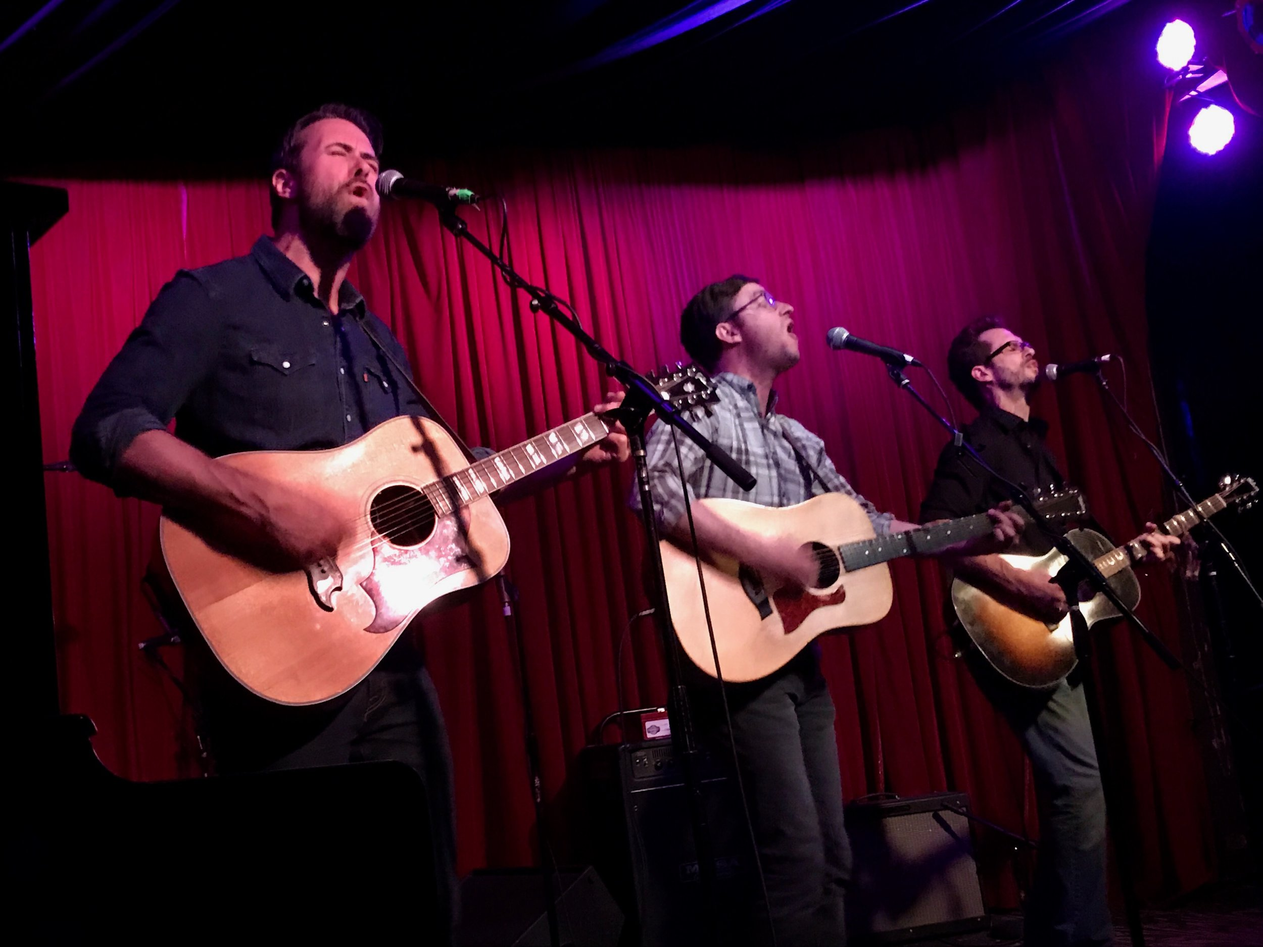 Jay Nash, Matt Duke, Tony Lucca at Hotel Cafe, April 18, 2018