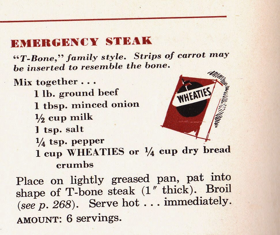 Taken from the  Betty Crocker Picture Cookbook  (1950).