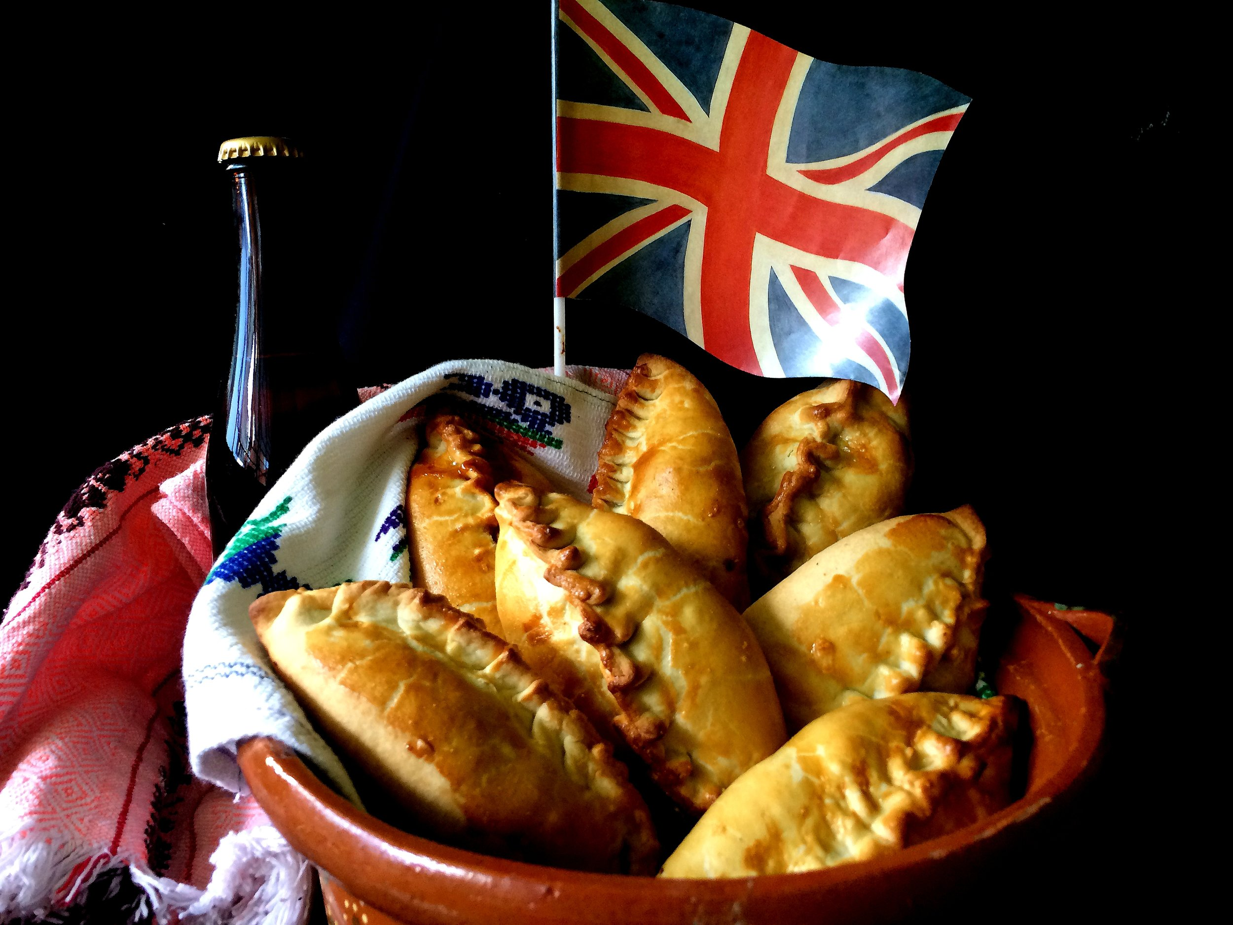 """Subterranean Snacks: Cornish Pasties in 19th Century Mexico              96               Normal   0           false   false   false     EN-US   X-NONE   X-NONE                                                                                                                                                                                                                                                                                                                                                                                                                                                                                                                                                                                                                                                                                                                                                                                                                                                                                      /* Style Definitions */ table.MsoNormalTable {mso-style-name:""""Table Normal""""; mso-tstyle-rowband-size:0; mso-tstyle-colband-size:0; mso-style-noshow:yes; mso-style-priority:99; mso-style-parent:""""""""; mso-padding-alt:0in 5.4pt 0in 5.4pt; mso-para-margin:0in; mso-para-margin-bottom:.0001pt; mso-pagination:widow-orphan; font-size:12.0pt; font-family:Calibri; mso-ascii-font-family:Calibri; mso-ascii-theme-font:minor-latin; mso-hansi-font-family:Calibri; mso-hansi-theme-font:minor-latin;}      Struggling to decide what to have for lunch today? Take a tip from history & pack a pie! This week, The Feast explores how the pastry pie was the original grab & go lunch option, from the Ottoman börek to the Cornish pasty to the Hot Pocket. Although the Cornish pasty may be an icon of English cuisine, learn how a small town in the mountains of Mexico made this traditional mining meal their own. Plus, all the EU pastry laws you can handle on this week's special collaboration episode featuri"""