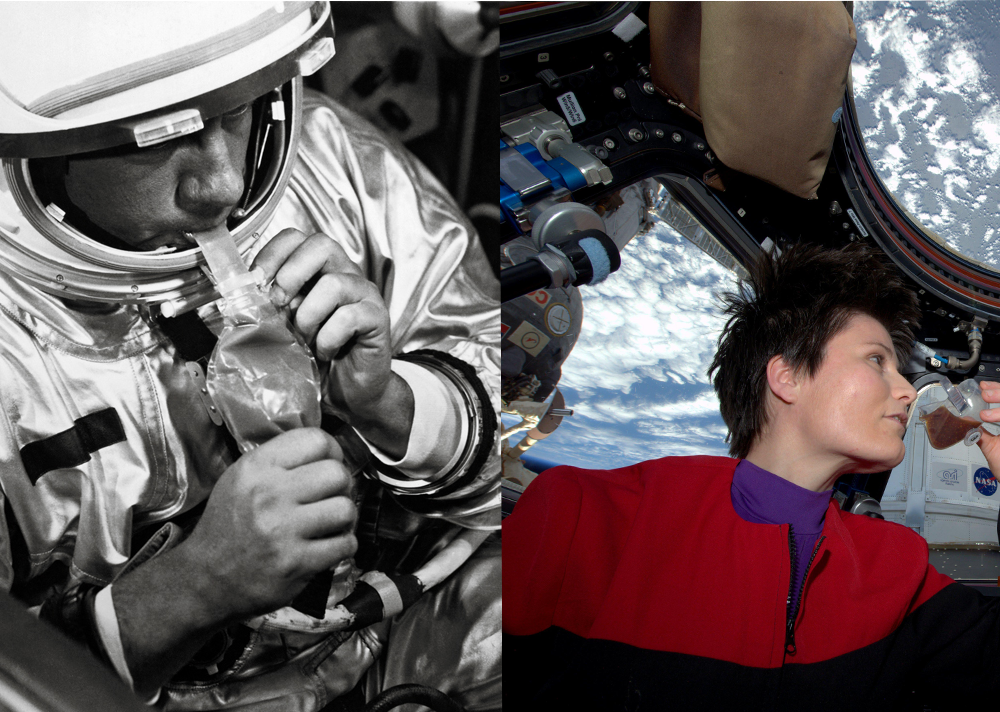 Space Food: Then & Now