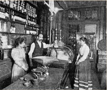 Sahadi's Store in Lower Manhattan, circa 1899 (courtesy of NY Times)