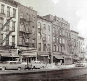 Sahadi's in 1958 on Atlantic Avenue in Brooklyn, NYC.