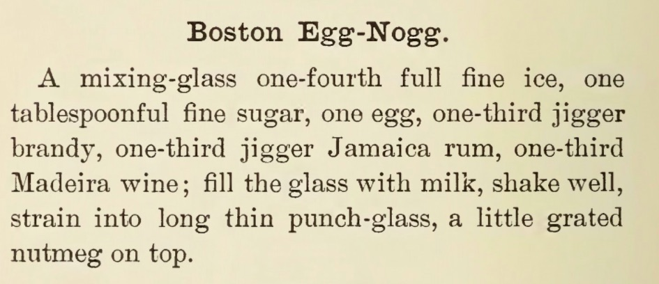 Courtesy of  Modern American Drinks: How to Mix and Serve Them  (1895)