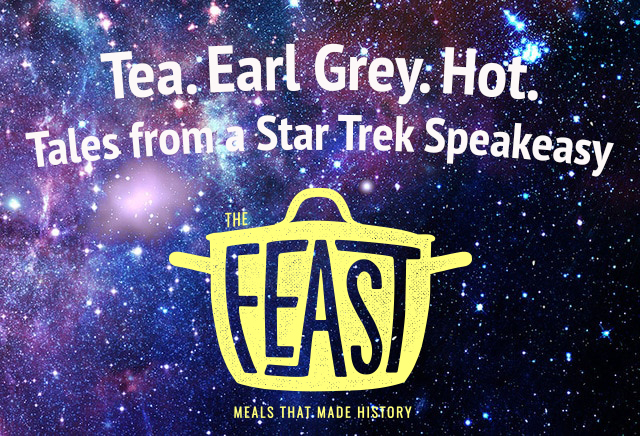Tea. Earl Grey. Hot. Tales from a Star Trek Speakeasy    The Feast is back! On our debut episode for Season 3, we dig deep into one of the most beloved sci fi universes of all time: Star Trek. Forget the transporters, phasers, and warp speed, on this episode, we look at the food and drink that kept the Enterprise crew flying through the stars. We talk to Glenn McDorman and Valerie Hoagland, hosts of the Lower Decks podcast, about how the future of food has changed since Star Trek debuted in the 1960s.   Show Notes    Listen Now!