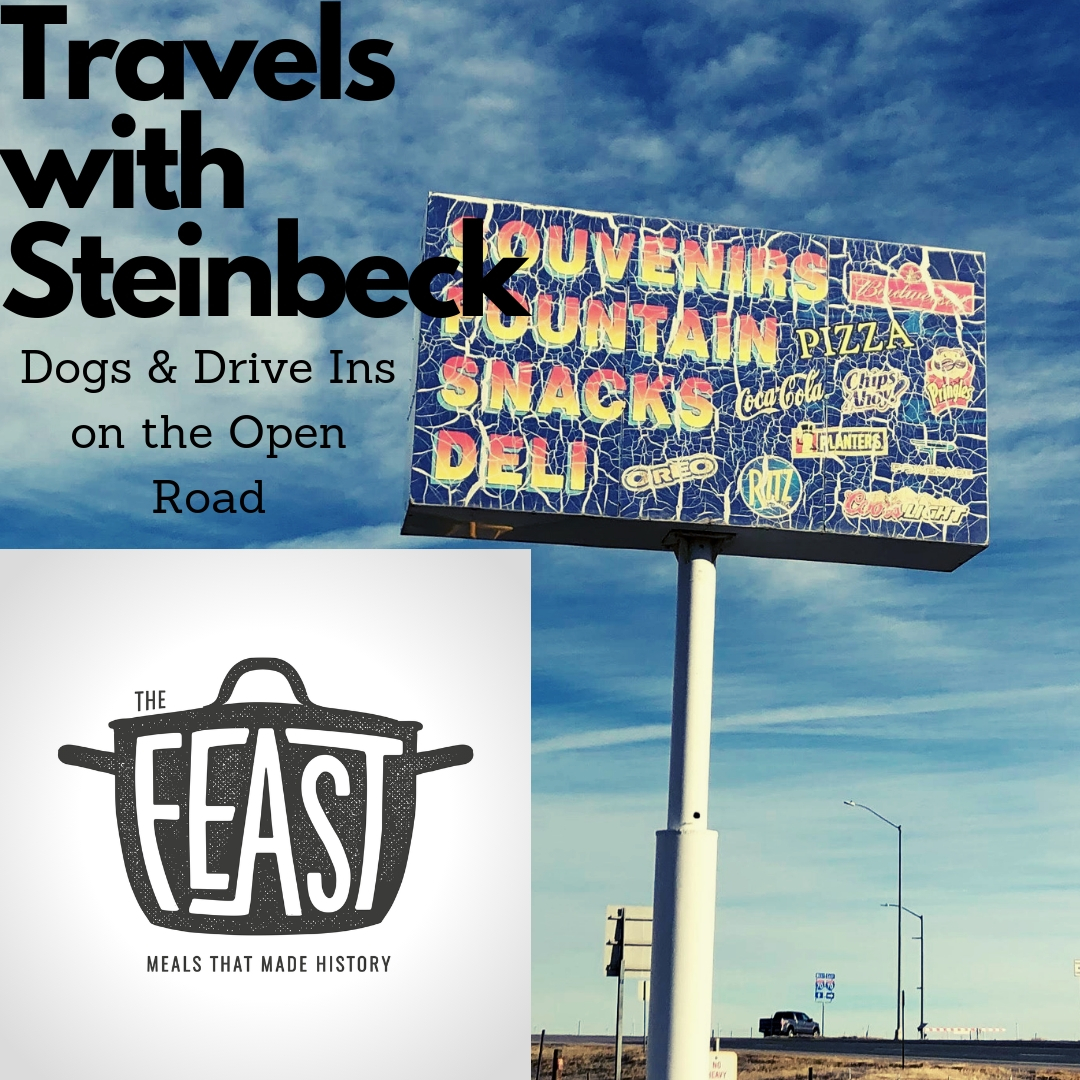 Travels with Steinbeck: Dogs and Drive Ins on the Open Road     We're exploring the great American road trip this week on The Feast. Learn how the call of the open road has inspired millions over the last century to see the country. We follow in the footsteps and exhaust fumes of American writer, John Steinbeck, along the road.    Show Notes    Listen Now