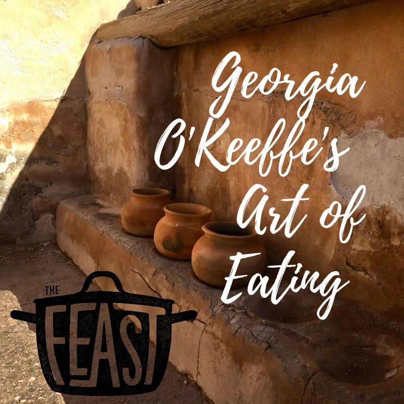 Georgia O'Keeffe's Art of Eating     Join us on an artistic feast like no other with American artist, Georgia O'Keeffe. A prolific painter, O'Keeffe was also a devoted foodie, with an enviable cookbook collection and gigantic kitchen at her home in New Mexico.    Show Notes      Listen Now