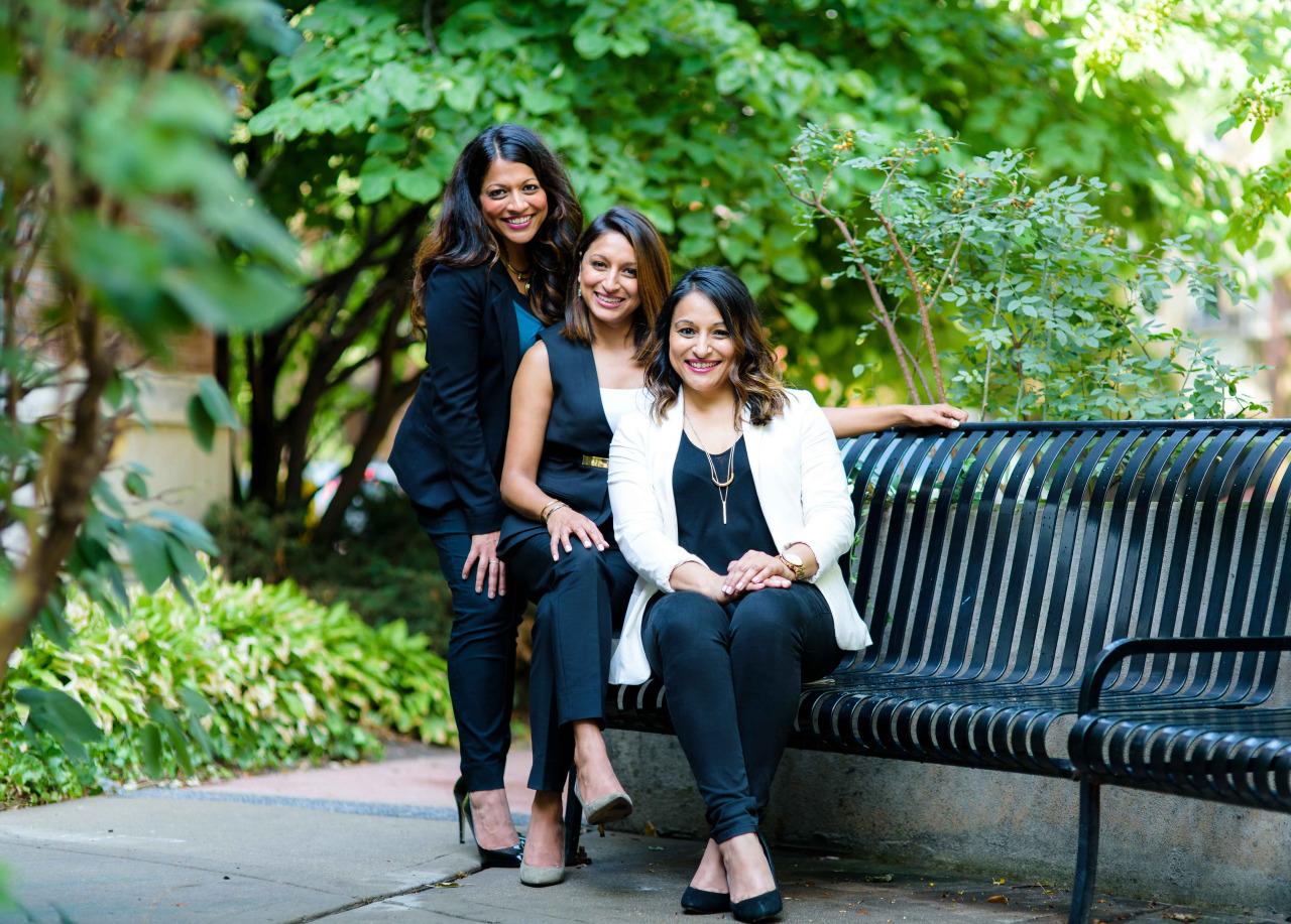 Shalini, Malini and Roshni Patel