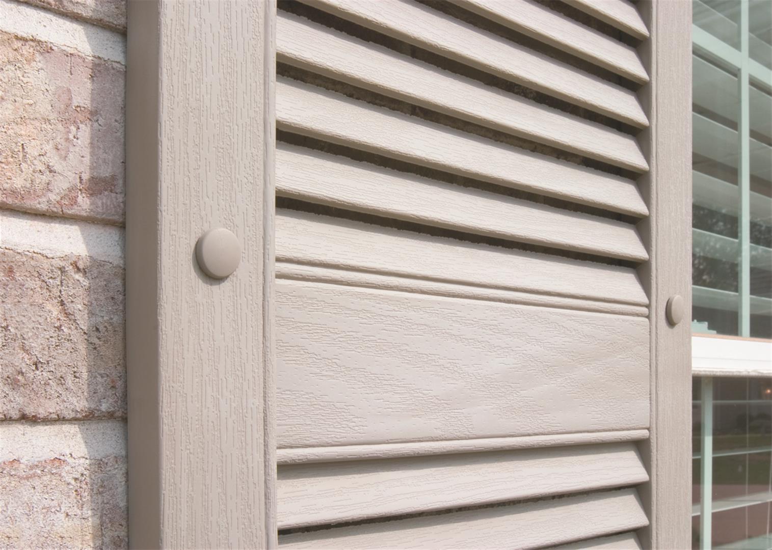 Exterior Shutter Close Up