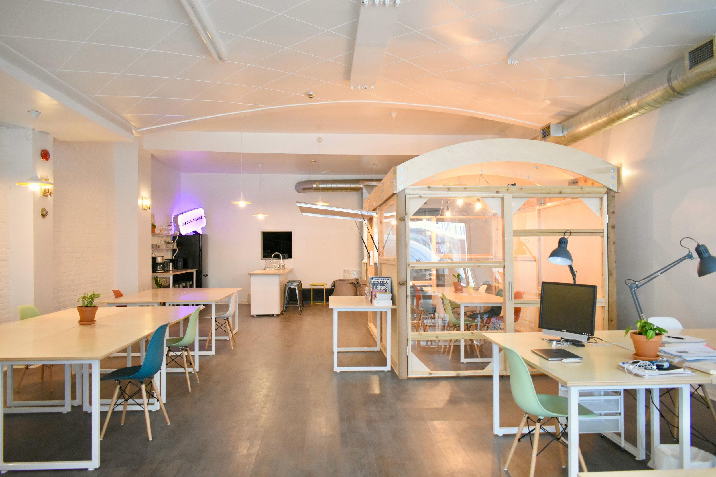 Un espace de création dans Hochelaga-Maisonneuve -