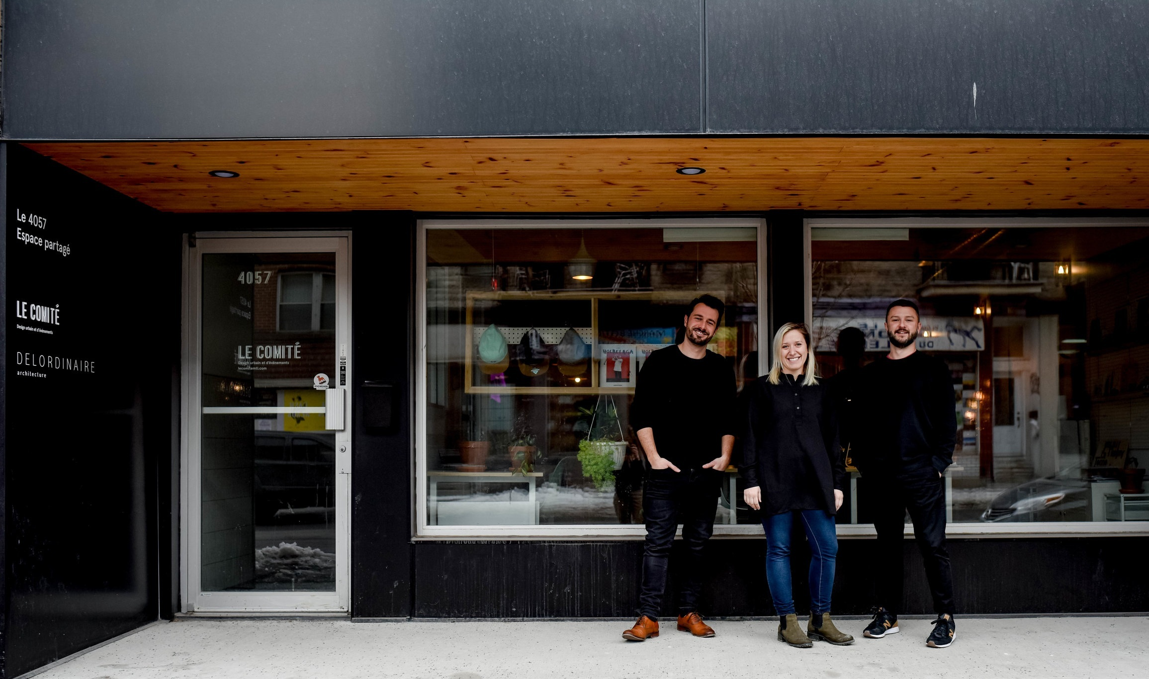 Le Comité est une coopérative de travail basée à Montréal et fondée en 2016 par Emilie Gagnon, Maxim Bonin et Pierre Moro-Lin. -