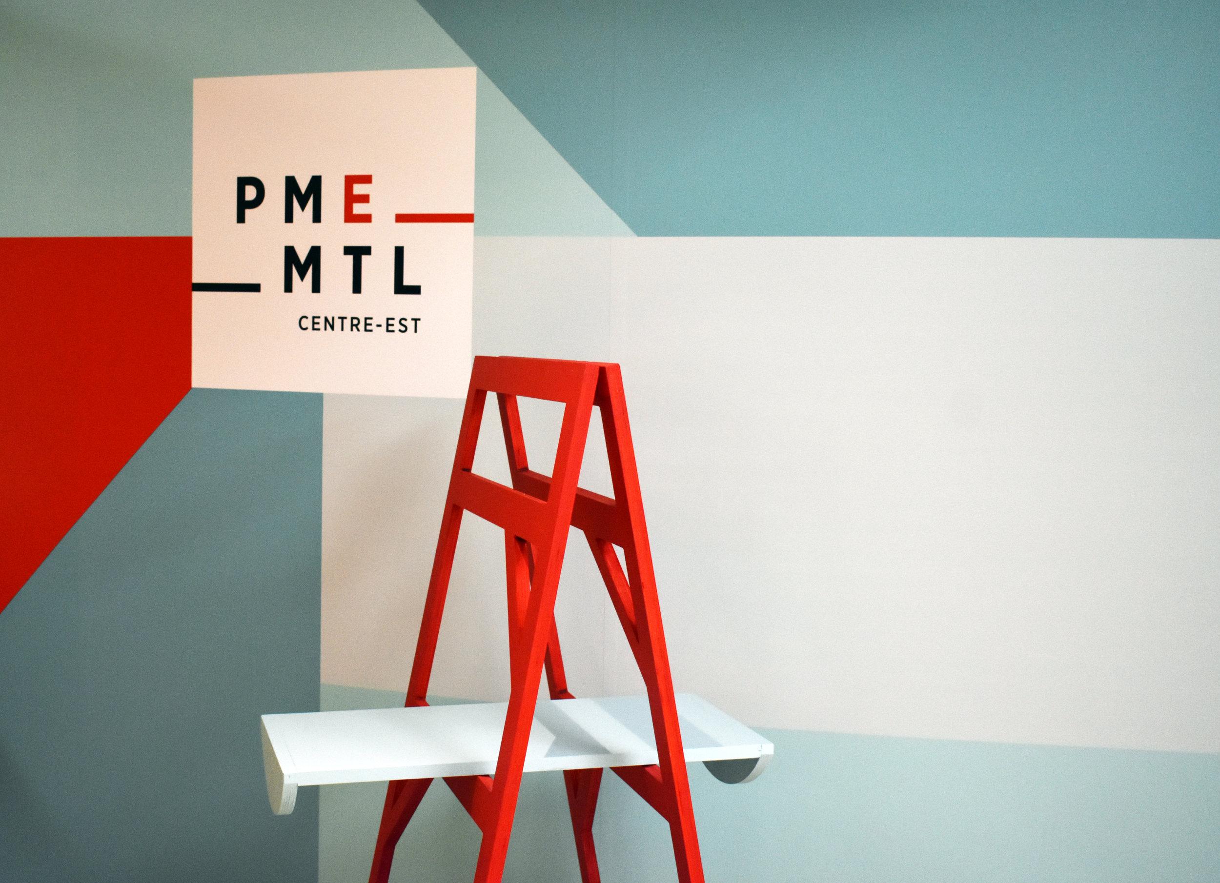Design de kiosques pour PME MTL -
