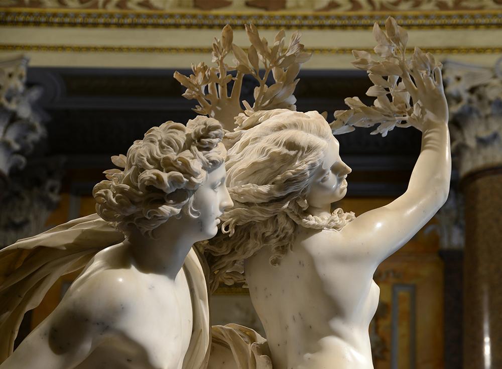 APOLLO AND DAPHNE BY BERNINI 1623 PHOTOGRAPHER: UNKNOWN
