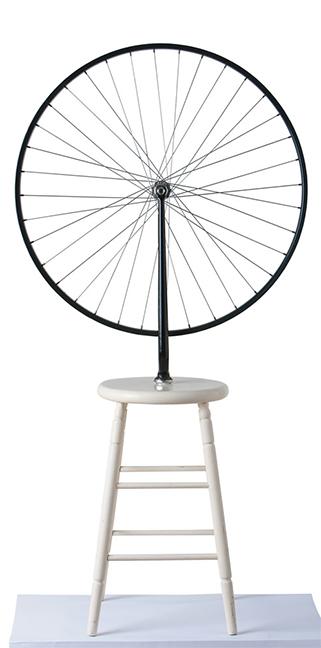 "MARCEL DUCHAMP ""BICYCLE WHEEL 1951"