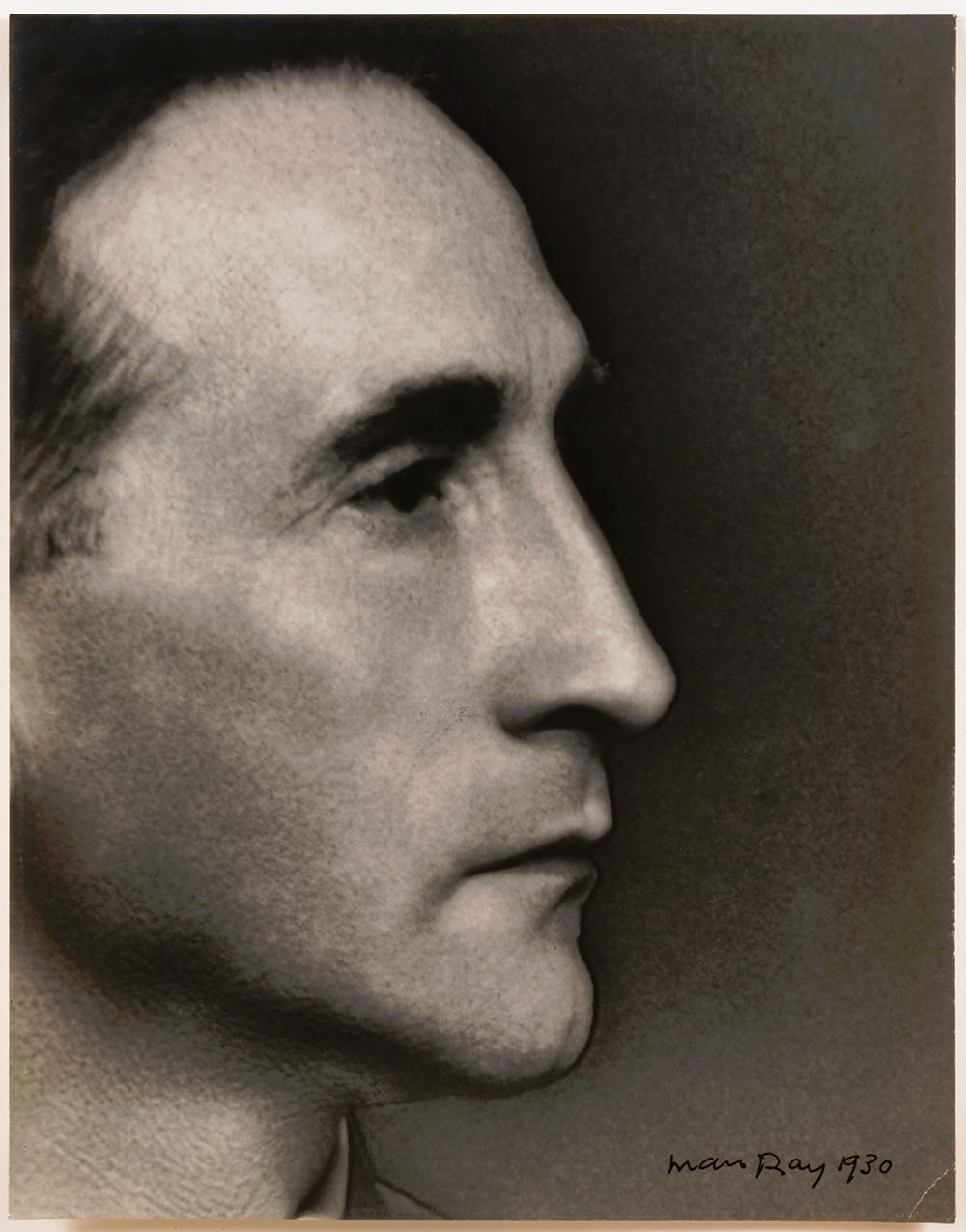 PHOTO: MAN RAY 1930 PORTRAIT: MARCHEL DUCHAMP