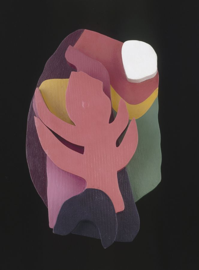Piece by Jean Arp; photographer and title unknown