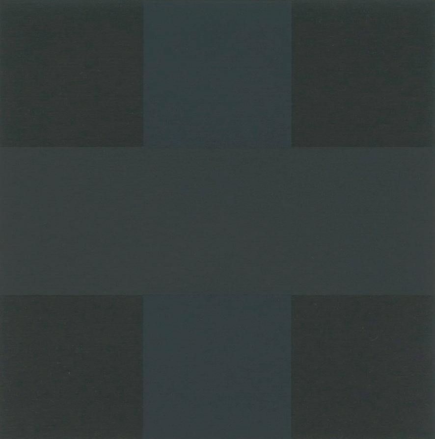 "ad reinhardt ""Blue painting"" 1953"