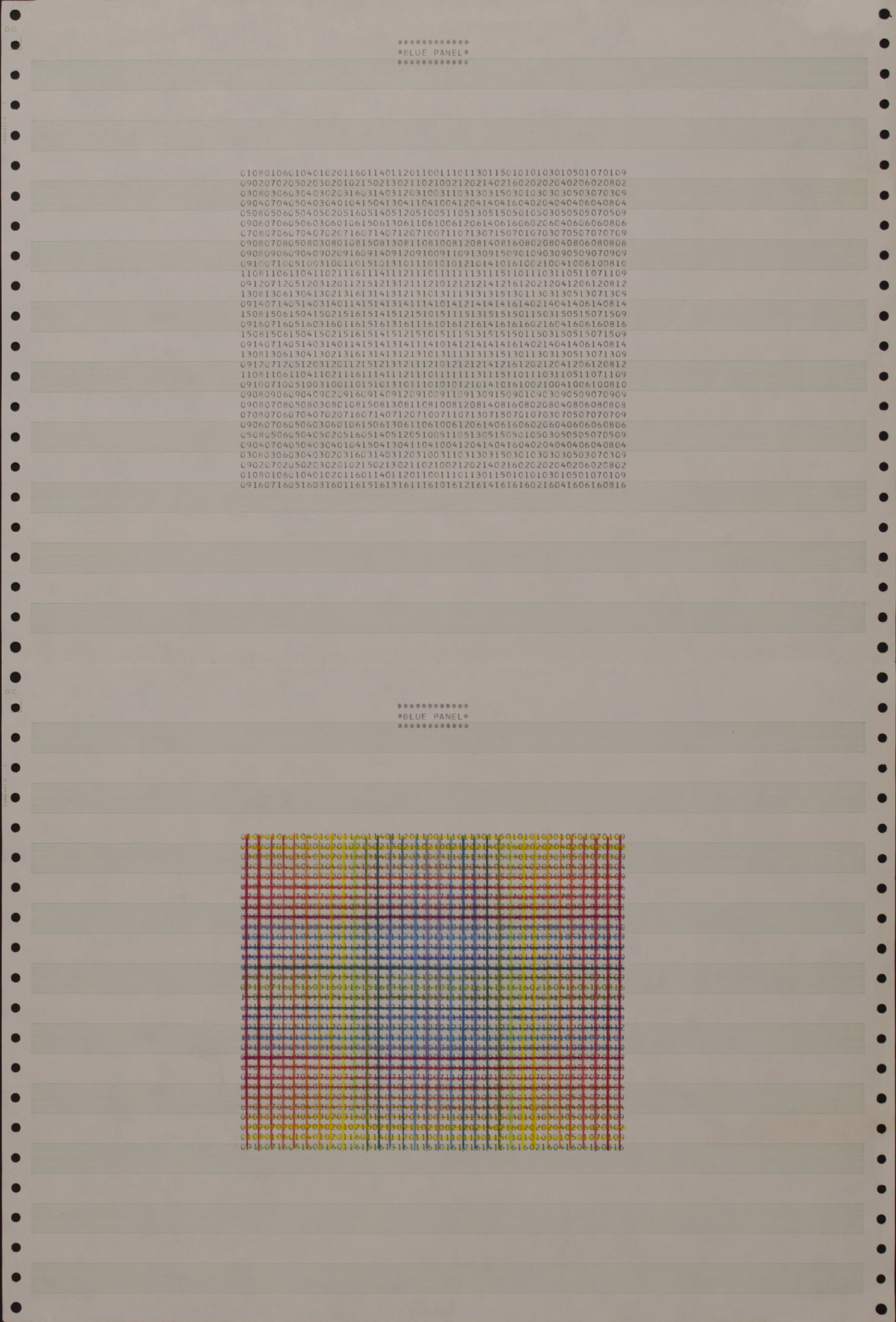 weave- COMPUTER study a 1972-73 ©