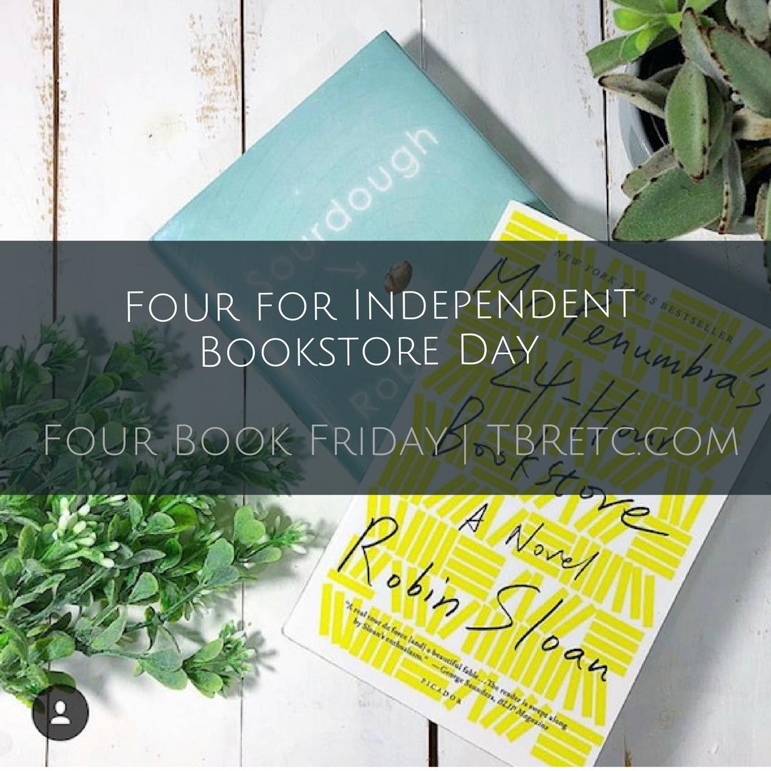 Four Book Friday .  Independent Bookstore Da