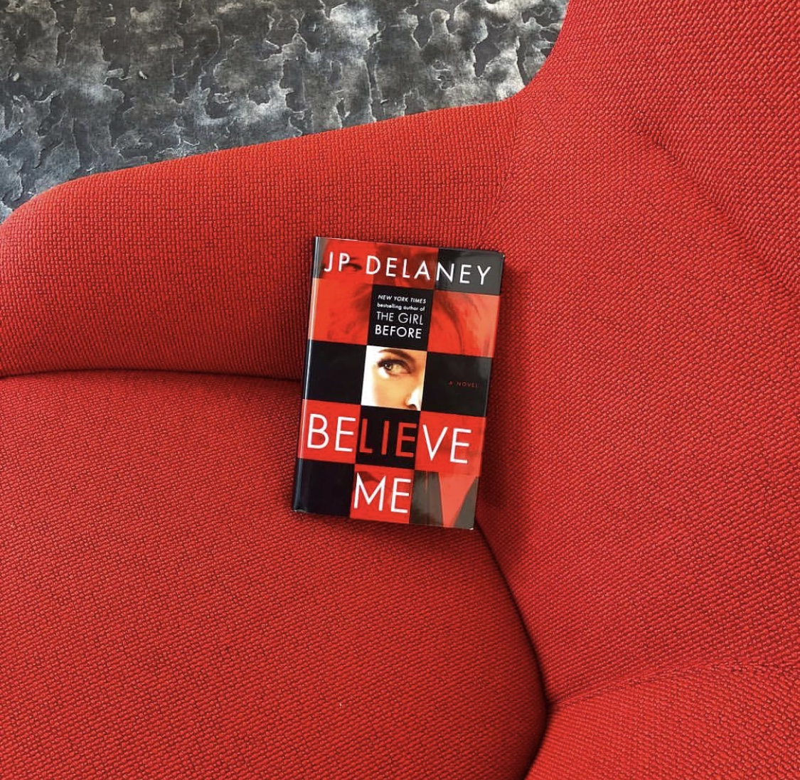 I really enjoyed this! Believe Me has such a unique premise- Clare is a British woman who has come to New York to pursue acting. She can't work, since she's here on a student visa, and she hasn't gotten her big break yet so shes pursuing other options. She works for a law firm in entrapment- she gets hired to try and get cheating husbands to sleep with her to get evidence for the wives. She's working on her acting skills and getting by- until one of the clients turns up dead the next morning.  The book takes many turns and I never really knew what was real and what was an act. I really loved the author's last book, The Girl Before, and I think I enjoyed this even more. Warning: this is one dark book so if you're sensitive to violence, you might want to skip it. From this depraved reader, it gets 4.5 stars.