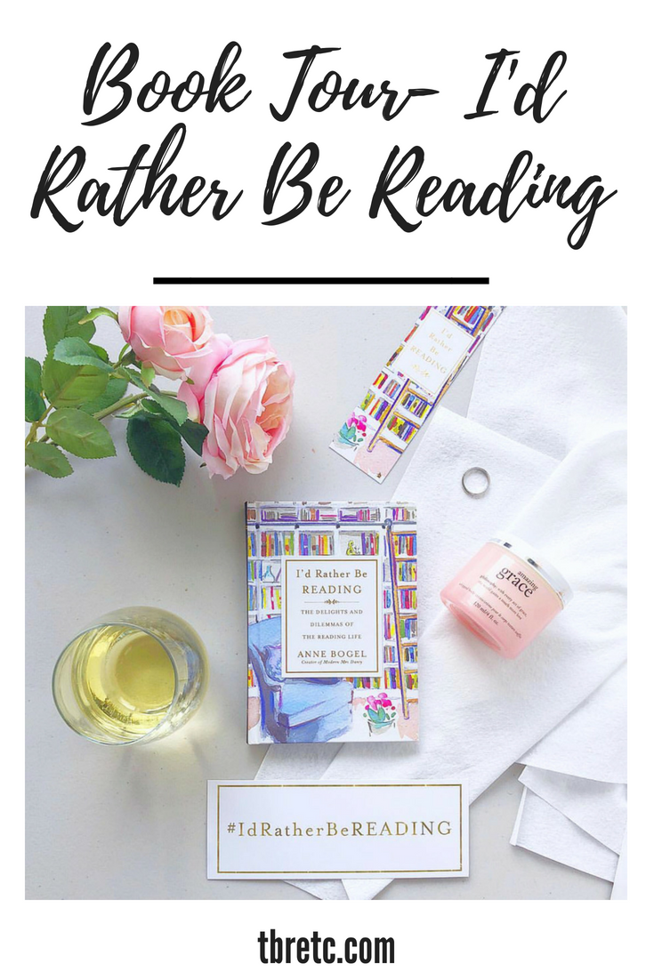 Book Tour | Id Rather Be Reading | TBR Etc.