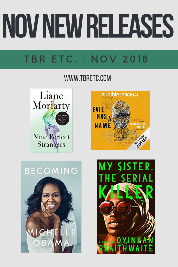 What to Read Nov 2018 | TBR Etc