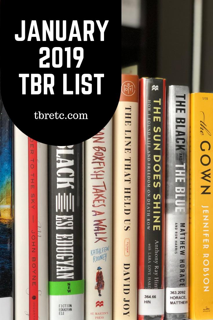 January 2019 TBR List   TBR Mix n Mingle   TBR Etc.