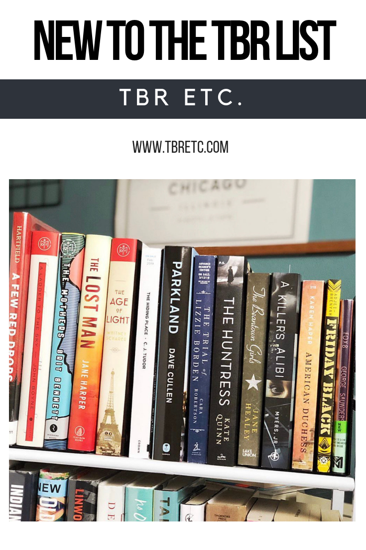 New to the TBR List | TBR Etc.