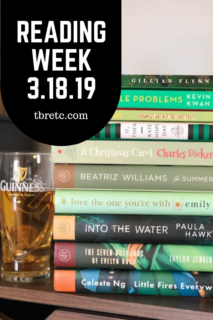 Reading Week 3.18.19 | TBR etc.