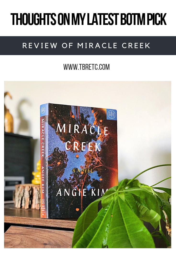 Review of Miracle Creek #BOTM #MiracleCreek