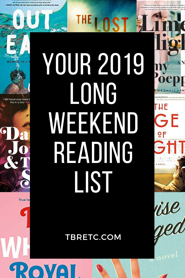 Your 2019 Long Weekend Reading List! #weekendreading #memorialday2019