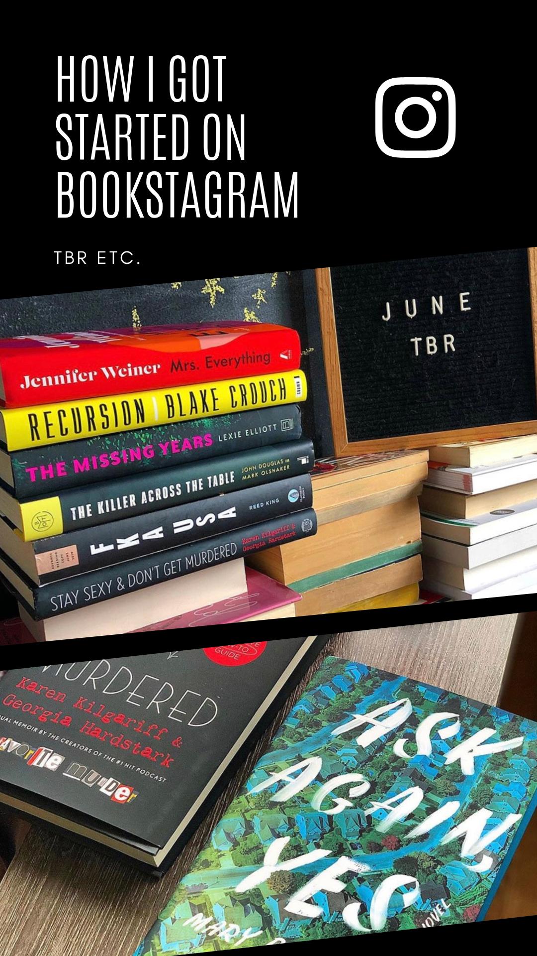 How I Got Started on Bookstagram! | TBR etc. #bookstagram