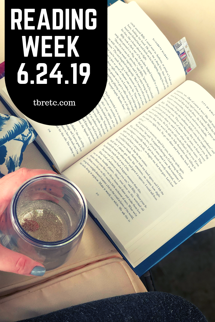 Reading Week 6.24.19 | TBR etc.