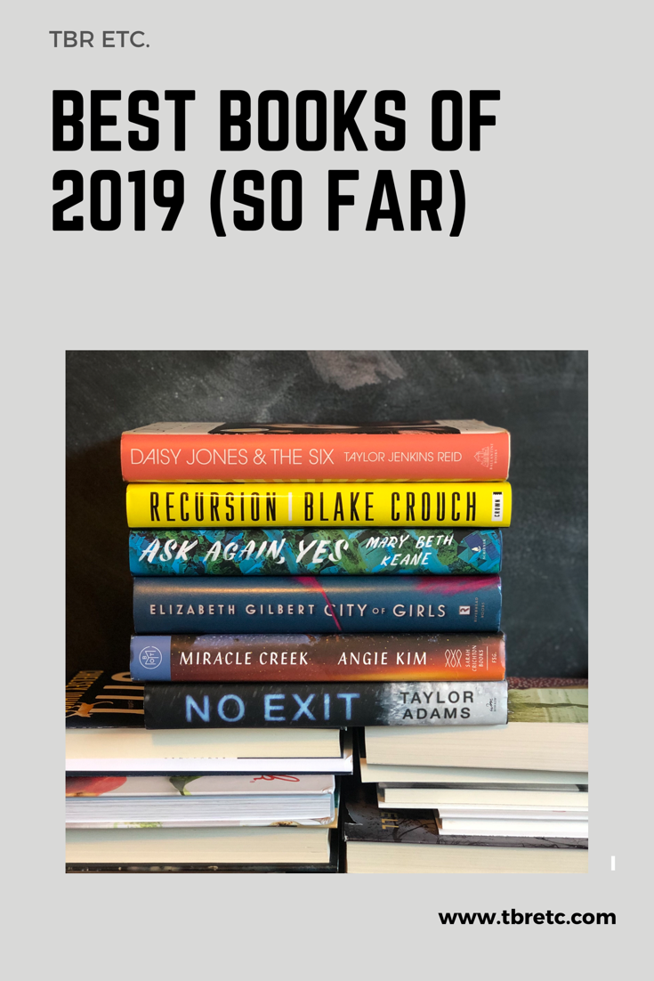 Best Books of 2019 (so far) and Mid-Year Reading Update