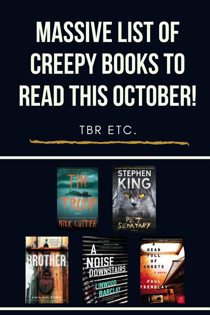 Break out the pumpkin spice and Hocus Pocus, kids, because it's almost OCTOBER! This massive list of spooky books will definitely get you in the mood for Fall.