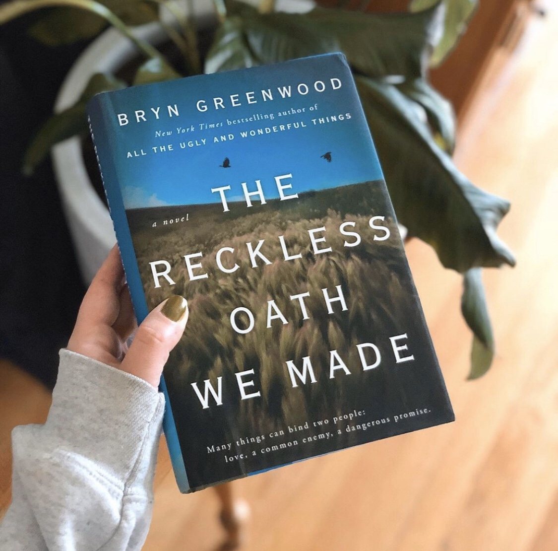 The Reckless Oath We Made | Reading Week 9.30.19 | TBR, etc.