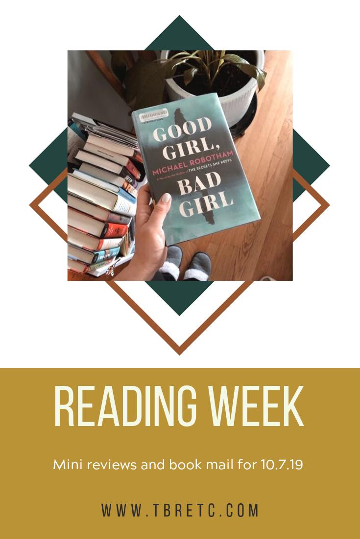 Reading Week | TBR, Etc.