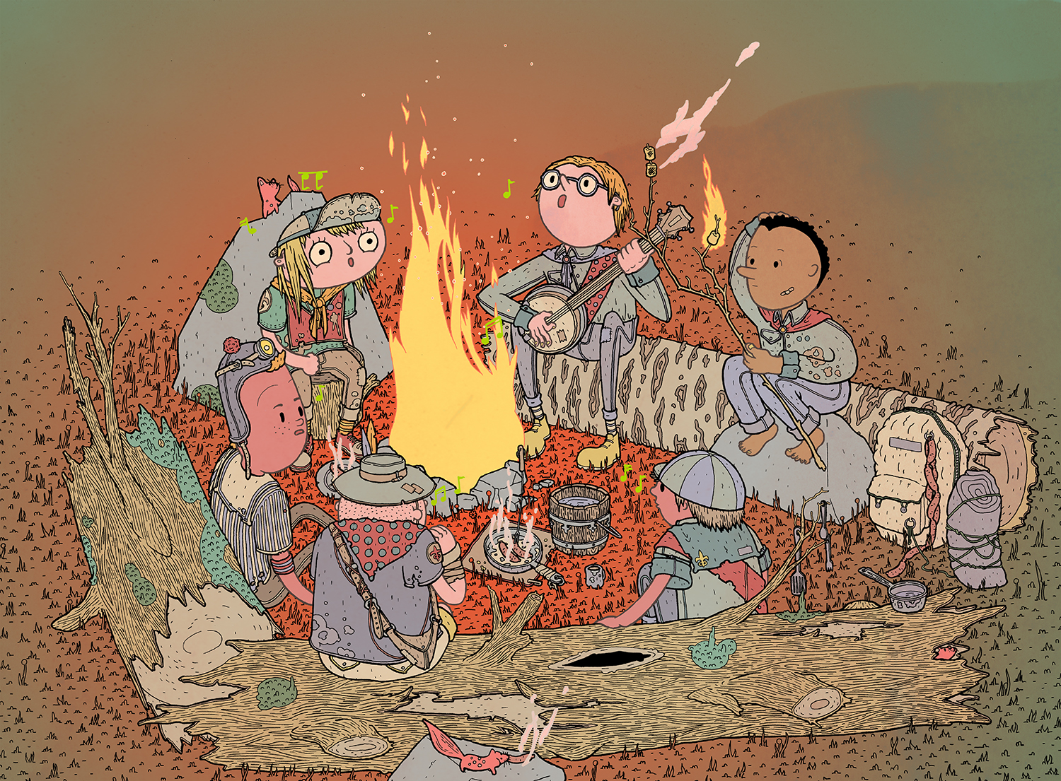 Untitled (Campfire)