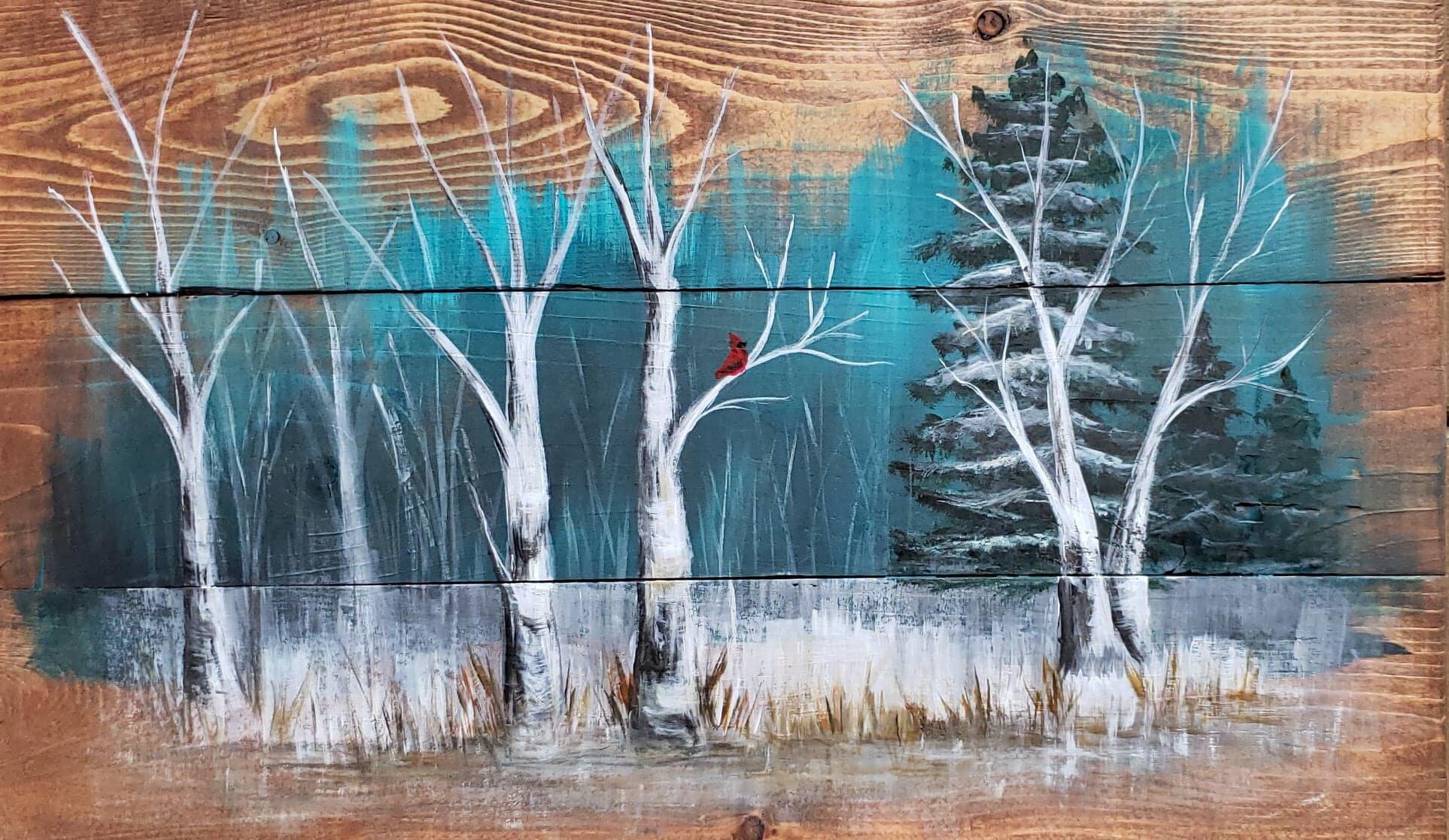 Wood Board Solitude Set Apart Art