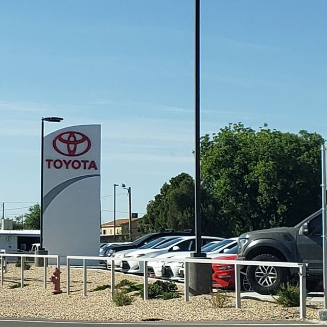 Just wanted hop on and send out a Big THANKS to Geroge and all the folks at Vescovo TOYOTA!! We appreciate your business!! We are honored to get the opportunity to take care of that showroom!!!