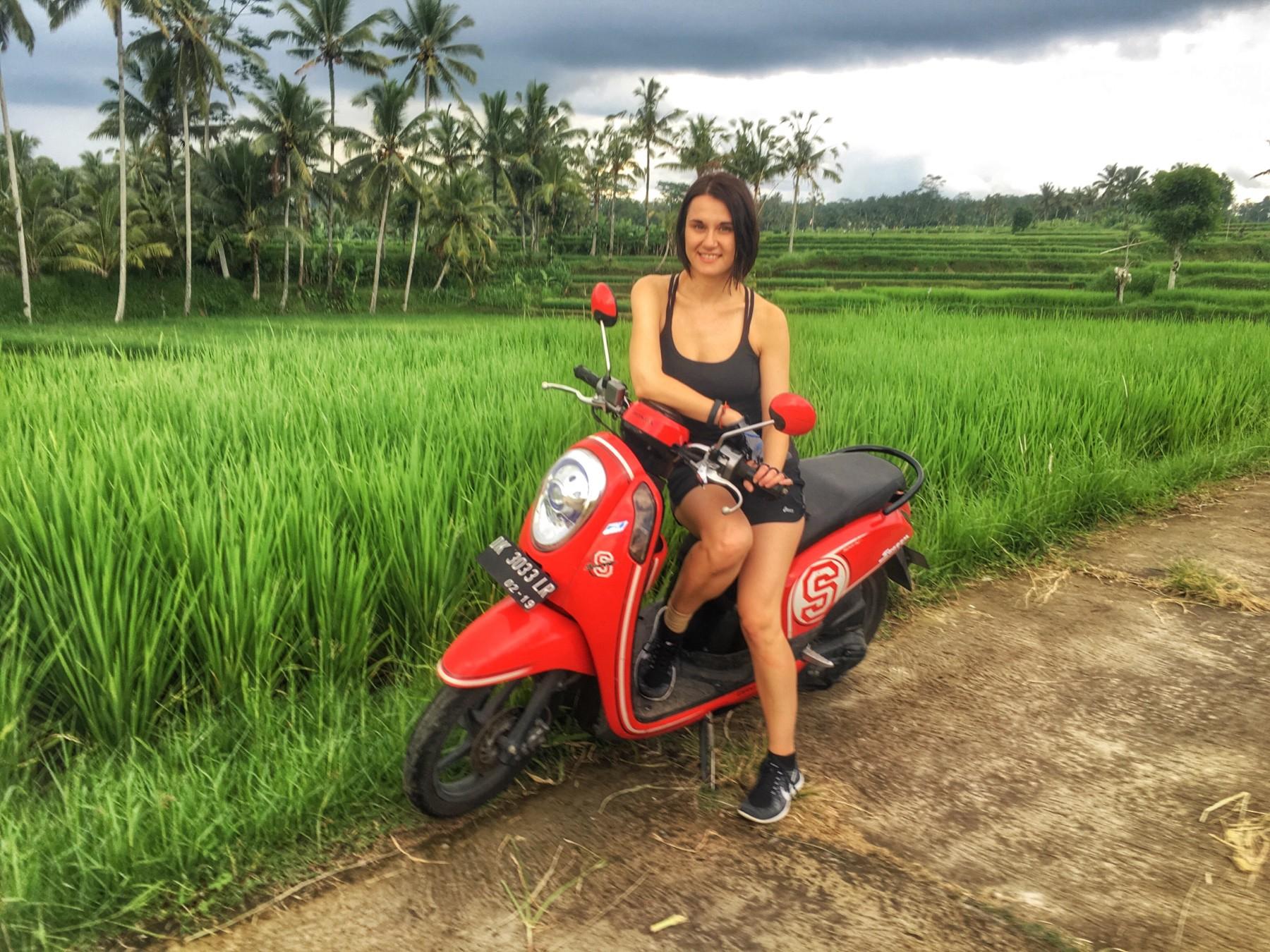 Motorbiking in Ubud, Bali