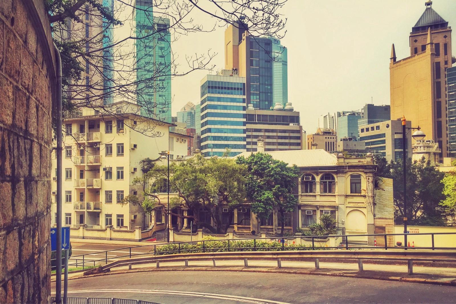Albany Road, Central Hong Kong