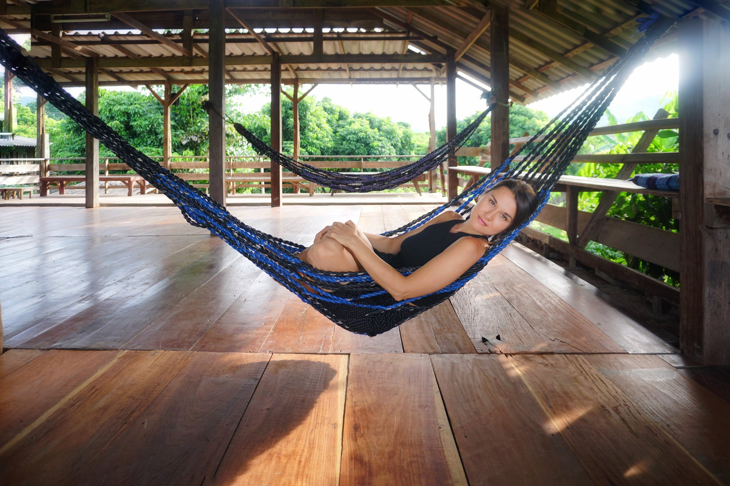 """Photo by Scott Rist at """" Earth Home ,"""" an eco-guesthouse in northern Chiang Mai, Thailand, 2019."""