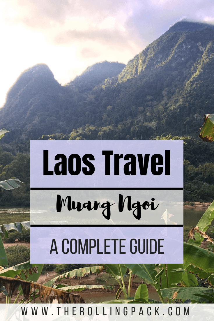 Laos is a beautiful country, and Muang Ngoi was the most beautiful village we visited in Laos! Here we tell you everything you need to know to visit Muang Ngoi Neua, Laos. #laos #travel