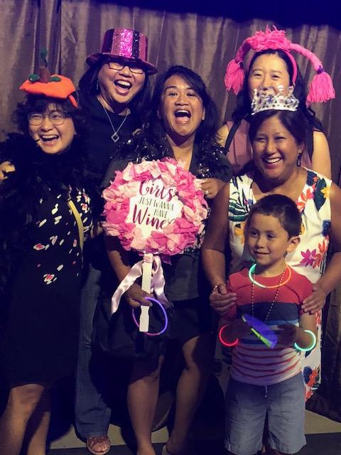 Huong Nguyen, Sue Ann Hong, Jennifer Cruz, Jennifer Brower, Laura Cansicio, and Eli Cansicio