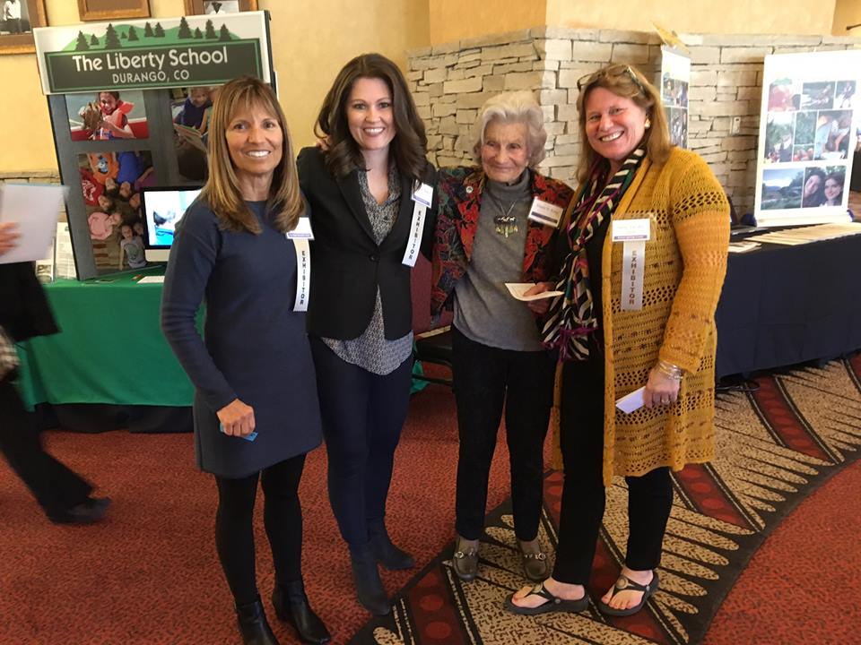 February : Professional connetions are important! Here Susie joins Diana King (third from left) and colleagues at the Southwest International Dyslexia Association's annual meeting in Albuquerque. These meetings are important to help ensure that campers get the benefit of the latest research and thinking on dyslexia education. Plus, they're a great way to meet potential campers and their families as well as potential tutors!
