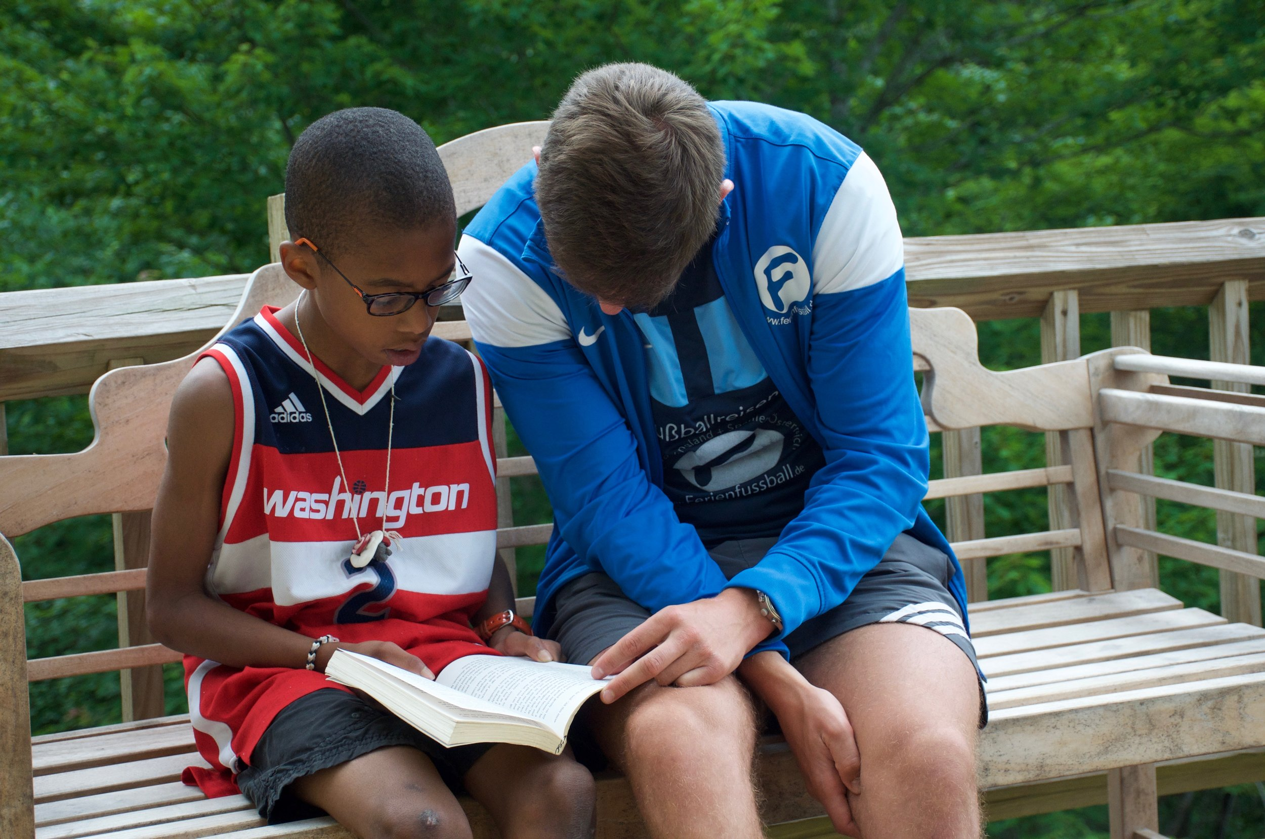 Camp Summer : Reading is also an adventure!