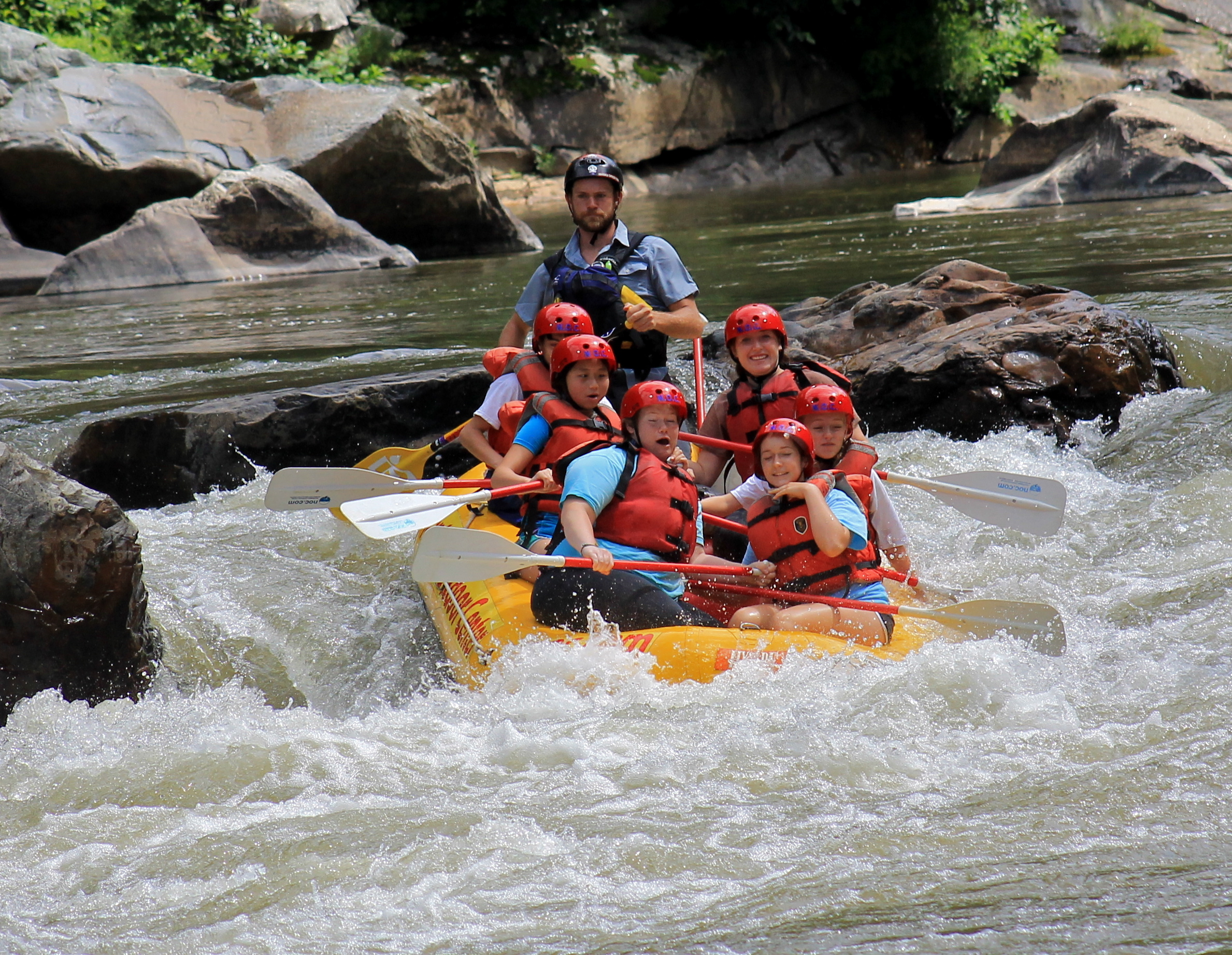 Camp Summer : Riding the rapids with Nantahala Outdoor Center!