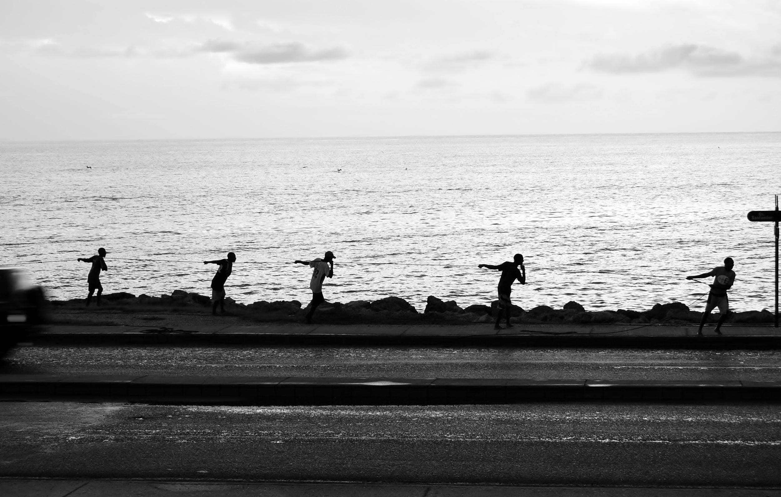Fishermen in Cartagena