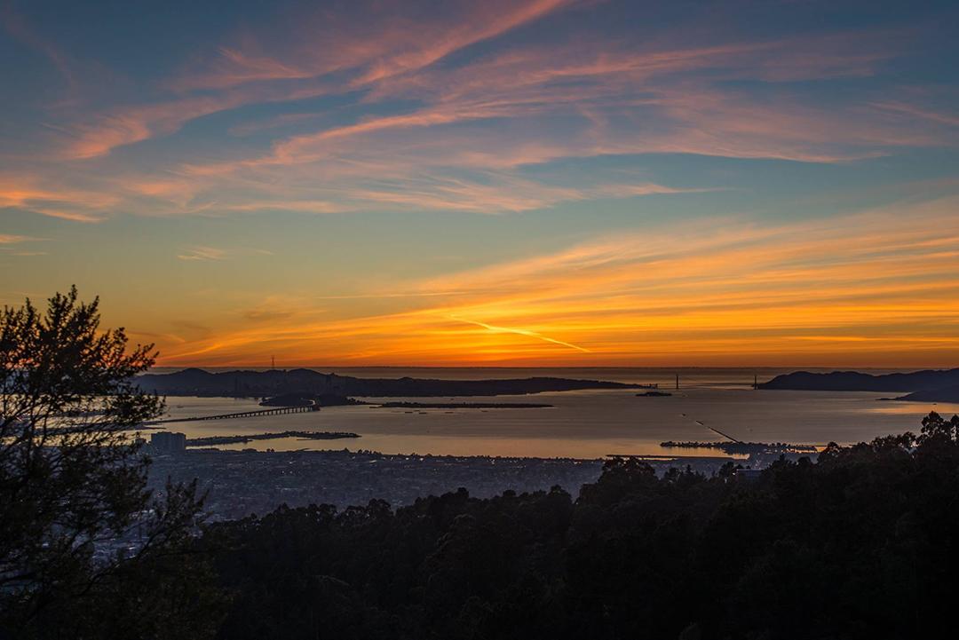 La vista desde Grizzly peak, Berkeley, CA