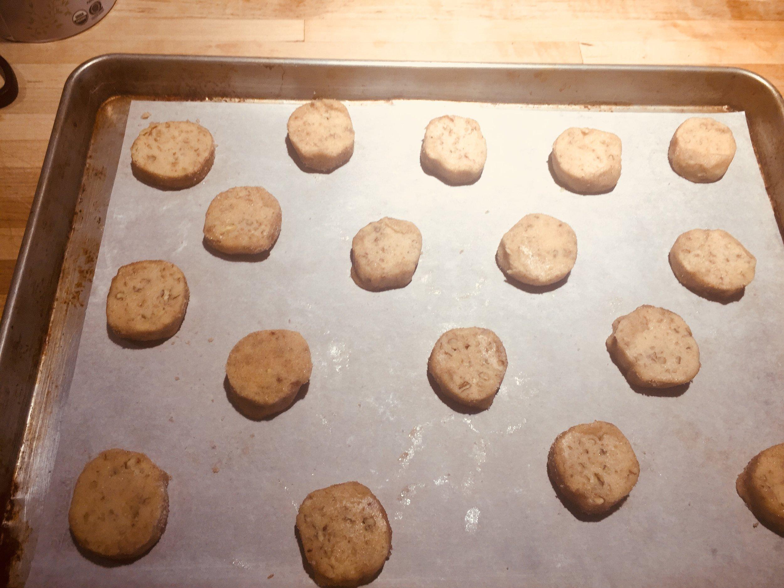 Ready to bake....